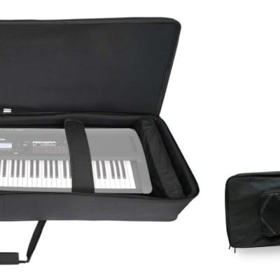 Rockville 88 Key Padded Durable Keyboard Gig Bag Case For Korg Kross 2-88-MB