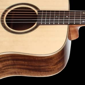Teton STS170NT Spruce/Koa Dreadnought Natural