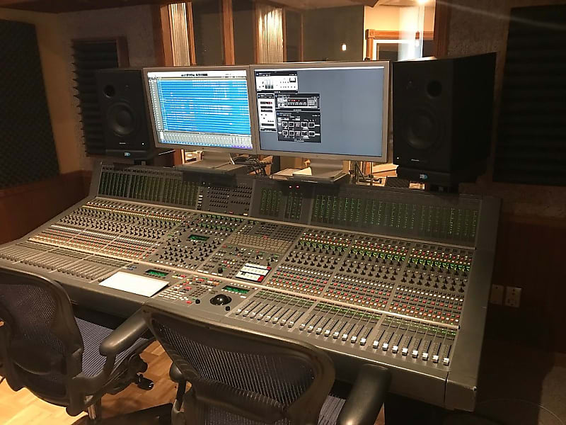 Pleasing Neve Capricorn Digital Studio Recording Console Includes Wiring Cue Amps Headphone Boxes Etc Download Free Architecture Designs Scobabritishbridgeorg