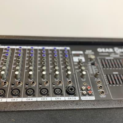 Gear One PA2400 8-Channel 2x400-Watt Powered Mixer