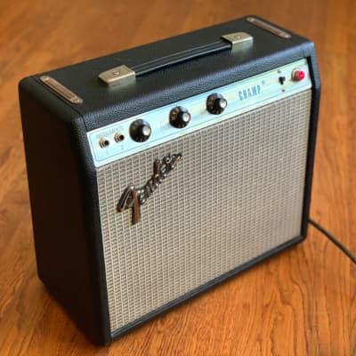 Fender Champ 1970s Silver Face 1x8 Vintage Combo 5W Tube Amplifier - Artisan Restored