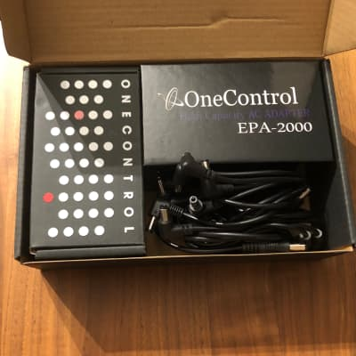 One Control One Control Micro Distro Tiny Power Distributor for Pedal Board for sale