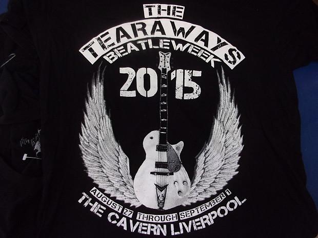 new style 9e26b e79ed The Tearaways Beatles Week 2015 The Cavern Liverpool UK band Medium shirt a  little wrinkled