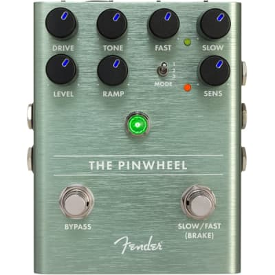 """Genuine Fender """"The Pinwheel"""" Rotary Speaker Emulator Effect Stomp Box Pedal"""