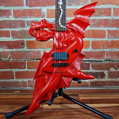 ESP LTD Devil Girl Fire Red Satin 2003 OHSC (New) for sale