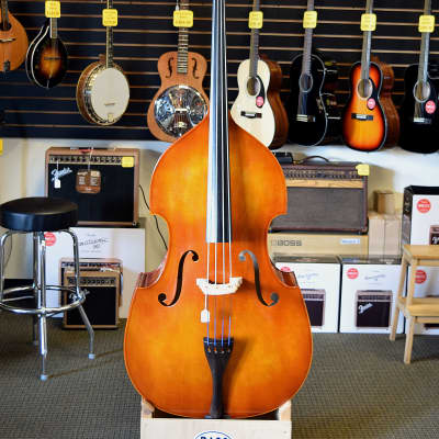 Lightly Used Eastman VB80 3/4 Upright Double Bass for sale