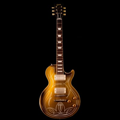 "Gibson Custom Shop Billy Gibbons ""Pinstripe"" '57 Les Paul (Signed, Aged) 2013"