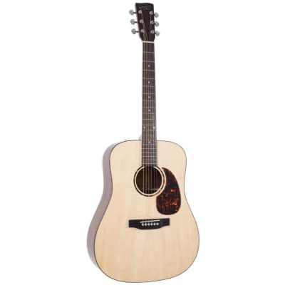 Recording King RD-G6 Solid Top Dreadnought Acoustic Guitar, Natural