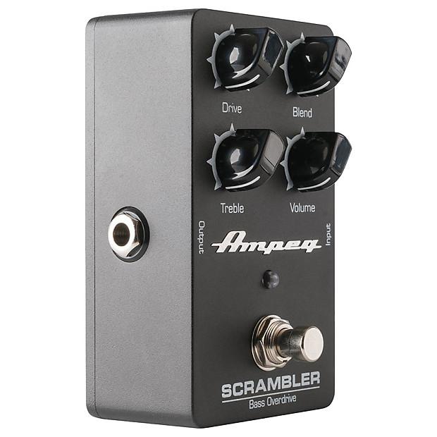 ampeg scrambler bass overdrive effects pedal dj band supply reverb. Black Bedroom Furniture Sets. Home Design Ideas