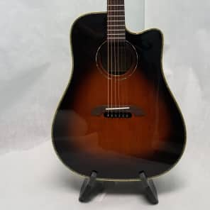 Alvarez Yairi DY1TS Tobacco Sunburst Gloss Acoustic Electric Guitar with Case for sale