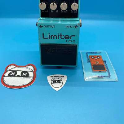 Vintage Boss LM-2 Limiter in Excellent Condition | Rare Made in Japan | Fast Shipping!