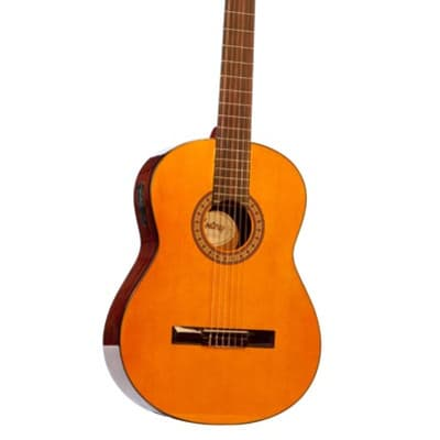Monterey MC-901T Full Size Classical Guitar with Tuner - Spruce Top - RRP: $169.95 - 50% OFF! for sale