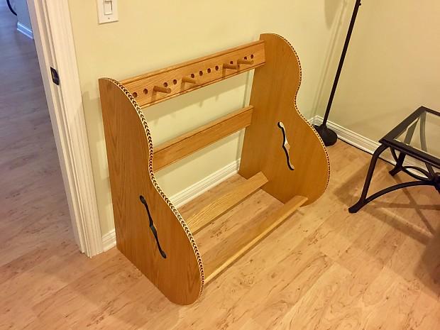 Guitar Storage: The Studio U0027Deluxeu0027 Guitar Case Storage Rack