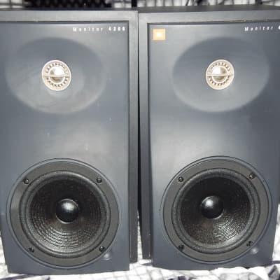 JBL 4206 passive studio monitor speakers