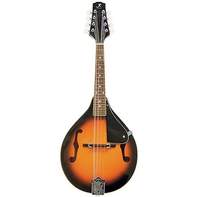 New J. Reynolds JRMAN10 A-Style Acoustic Mandolin, Tobacco Sunburst - Free Shipping