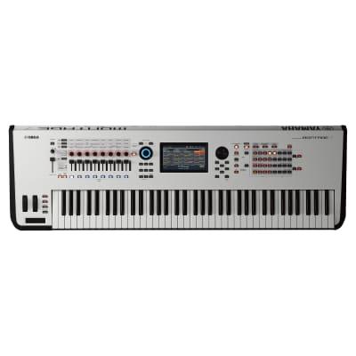 Yamaha Montage 7 Synthesizer - White