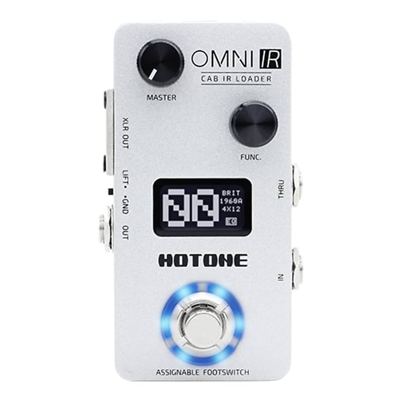 Hotone Omni IR Impulse Response Cabinet Simulator Guitar Effects Pedal