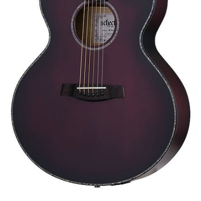 Schecter Orleans Stage Acoustic Vampyre Red Burst Satin VRBS NEW Guitar, 3710 for sale