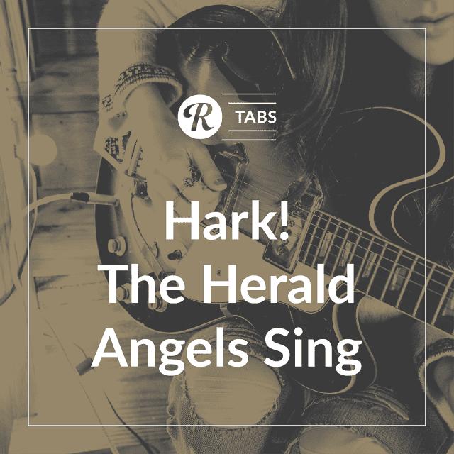 Hark The Herald Angels Sing Guitar Tab Sheet Music