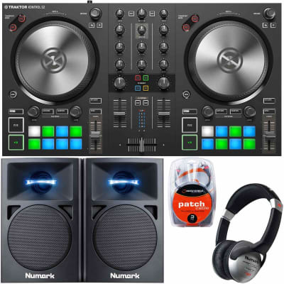 Native Instruments Traktor Kontrol S2 MK3 DJ Controller + Speakers + Headphones