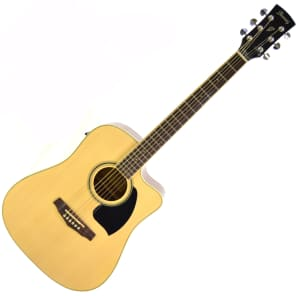 Ibanez PF15ECEWCNT Acoustic-Electric Guitar with Case Natural