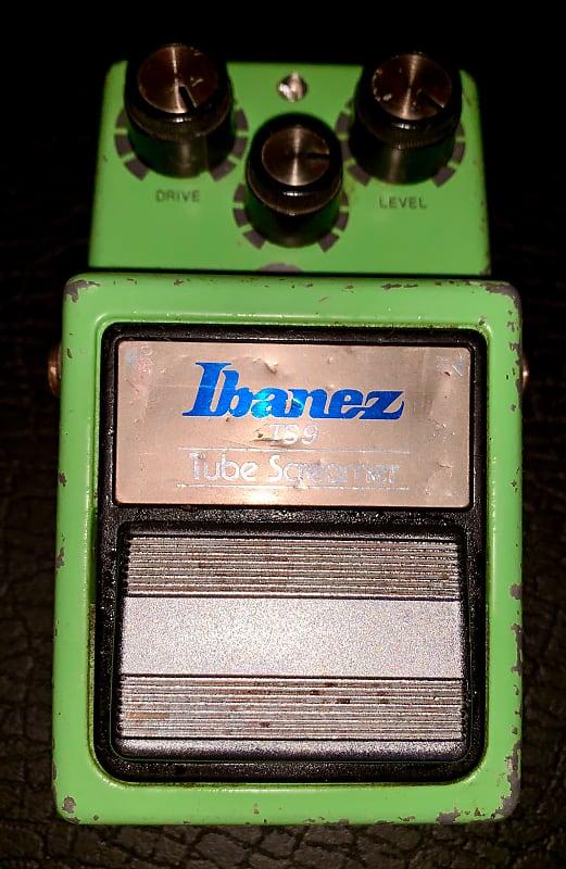 Vintage original 1983 Ibanez TS9 Tube Screamer overdrive