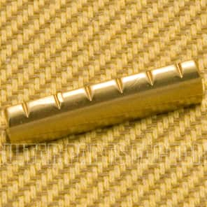 Aftermarket BN-1821-008 Slotted Brass Nut 43mm Gibson Style 6-String Guitar