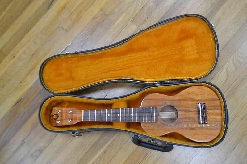 g string suprano koa ukulele 2003 the guitar collector reverb. Black Bedroom Furniture Sets. Home Design Ideas