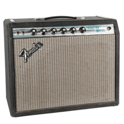 "Fender Princeton Reverb 2-Channel 15-Watt 1x10"" Guitar Combo 1977 - 1980"