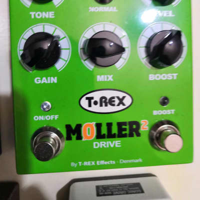 T Rex Moller 2 Pedal Overdrive Tipo Ts
