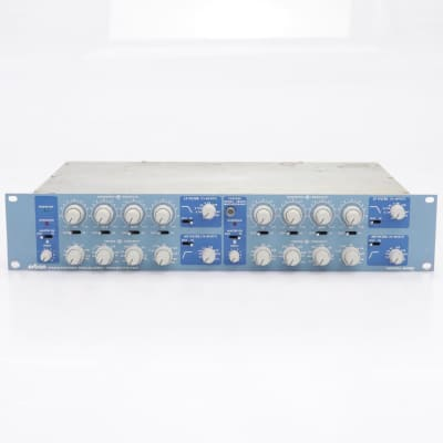 Orban 642B Blueface 2-Channel 4-Band LP HP Parametric Equalizer EQ #43175
