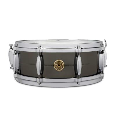 "Gretsch G4160SS USA Solid Steel 5x14"" 8-Lug Snare Drum"