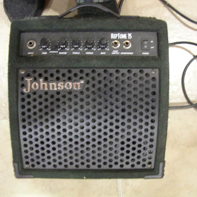 Johnson Rep Tone 15W Guitar Amp - Looks & Sounds Great image