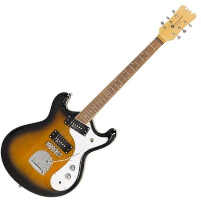 Eastwood Sidejack Pro JM Series Tone-Chambered Alder Body German Carve Top 6-String Electric Guitar