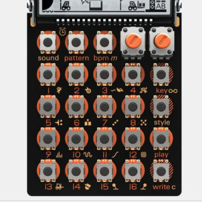 Doepfer Pocket Dial: MIDI Controller with 16 Rotary Encoders | Reverb