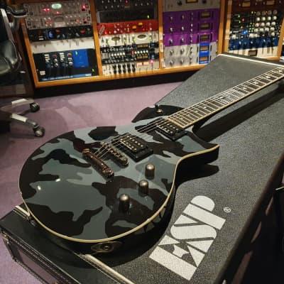 ESP Will Willie Adler Lamb of God LTD WA-600 WA600 Camo Custom Inlay Eclipse Guitar for sale