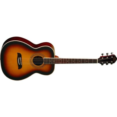 Oscar Schmidt OF2 Folk-Size Acoustic Guitar - Tobacco Sunburst for sale