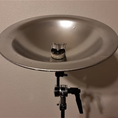 "11"" Sabian Custom Aluminum Bell - With Silver Matte Finish! Video Inside!"