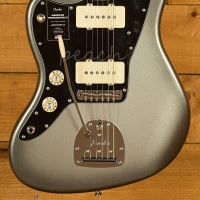 Fender American Professional II Jazzmaster Left-Hand Mercury Rosewood for sale