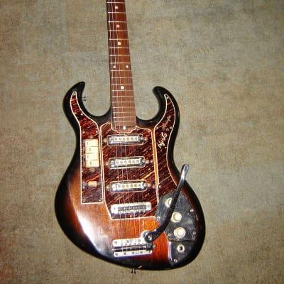 Vintage  1965 Hy-Lo Model 2103  Hoshino Gakki  like a Burns Bison Rare for sale