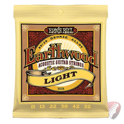 Ernie Ball 2004 Earthwood 80/20 Bronze 11-52 Acoustic Guitar Strings