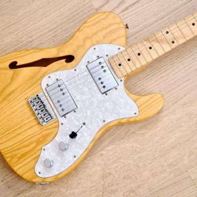 2000 Fender '72 Telecaster Thinline Vintage Reissue Guitar TN72 Natural Ash Japan CIJ for sale