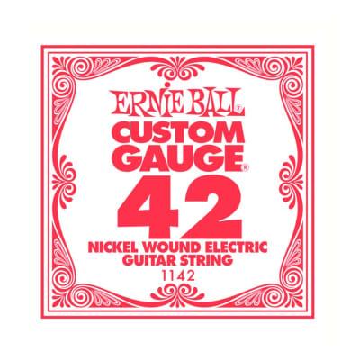 Ernie Ball Nickel Wound Single String 042