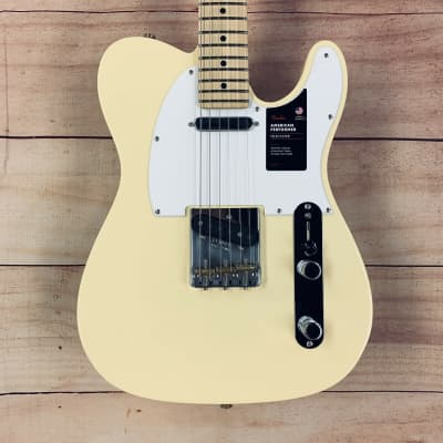Fender American Performer Telecaster with Maple Fretboard 2020 Vintage White