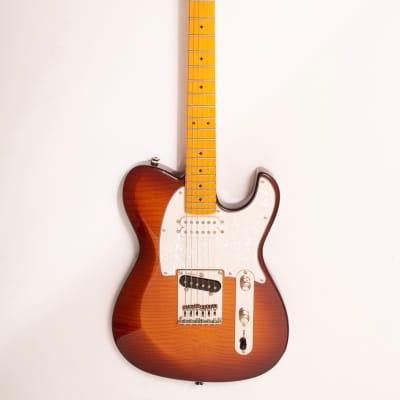 Dellatera Z-Glide CUSTOM [Vintage Sunburst; Maple fingerboard]