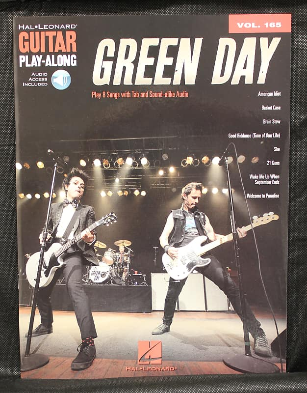 green day guitar play along volume 165 guitar tab songbook reverb. Black Bedroom Furniture Sets. Home Design Ideas