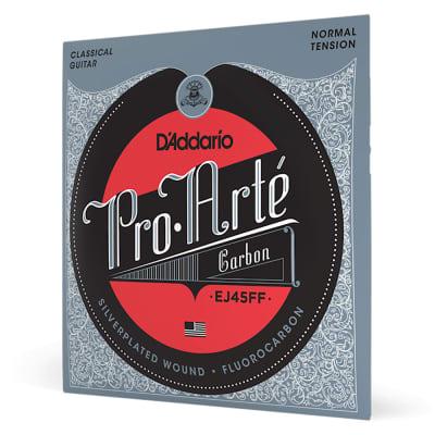 D'Addario EJ45FF Pro-Arté Carbon Classical Nylon Guitar Strings, Normal Tension