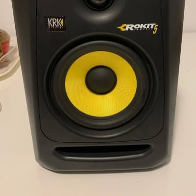 "KRK RP-5 Rokit G3 2-Way 5"" Active Studio Monitor (Single) 2014 - 2018 Black"