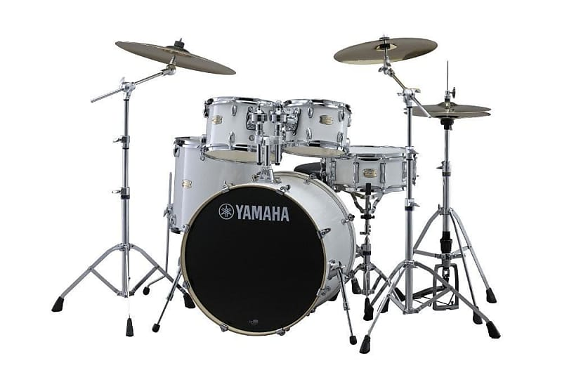 Store Demo | Yamaha Stage Custom Birch Wood Shell Pack | Includes Hardware image