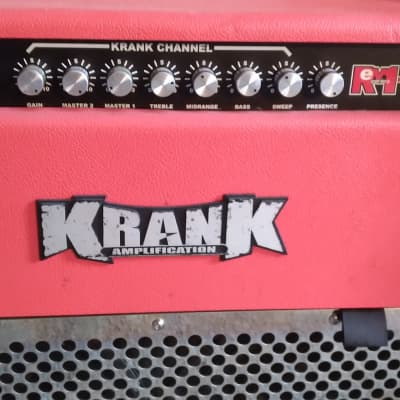 Krank Rev combo Red chrome